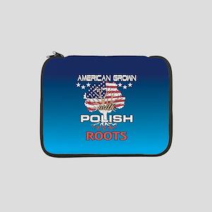 "Polish American 13"" Laptop Sleeve"