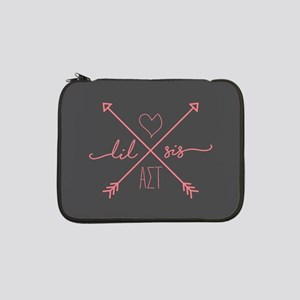 "Alpha Sigma Tau Little Arrows 13"" Laptop Sleeve"