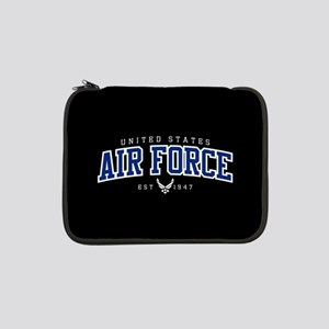 """United States Air Force Athletic 13"""" Laptop Sleeve"""