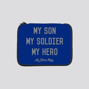 "U.S. Air Force My Son My Soldier 13"" Laptop Sleeve"