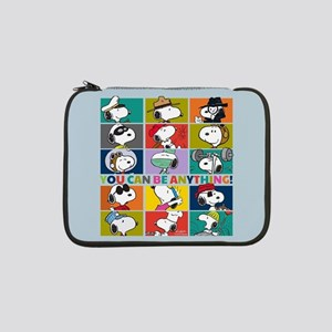 """Snoopy-You Can Be Anything 13"""" Laptop Sleeve"""