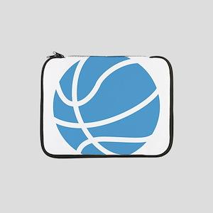 "Basketball Carolina Blue 13"" Laptop Sleeve"