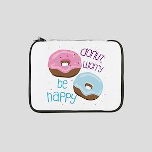 "Donut Worry 13"" Laptop Sleeve"