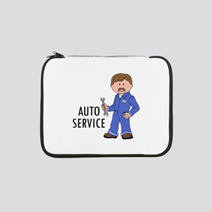 "AUTO SERVICE 13"" Laptop Sleeve"