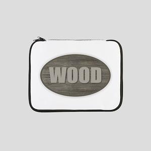"Wood 13"" Laptop Sleeve"
