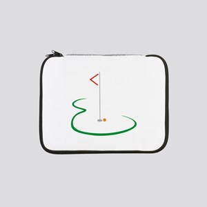"Golf Green 13"" Laptop Sleeve"