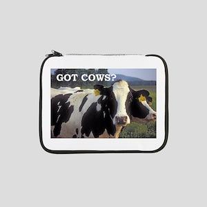 "Got Cows? 13"" Laptop Sleeve"
