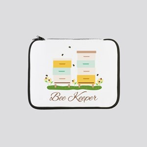 "Bee Keeper Boxes 13"" Laptop Sleeve"
