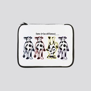 "Dare to be Different Cows 13"" Laptop Sleeve"