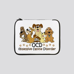 "OCD Obsessive Canine Disorder 13"" Laptop Sleeve"