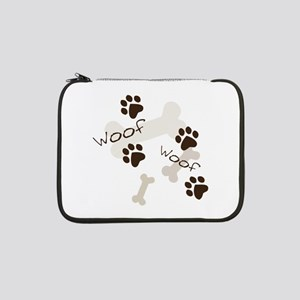 "Woof Woof 13"" Laptop Sleeve"