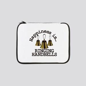 """Happiness is Ringing 13"""" Laptop Sleeve"""