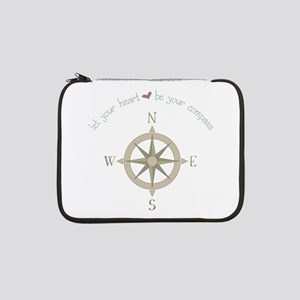 """Heart Your Compass 13"""" Laptop Sleeve"""