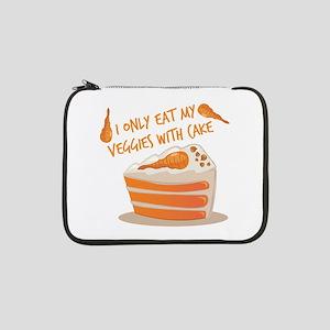 """Veggie Cake 13"""" Laptop Sleeve"""