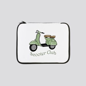 """Scooter Club 13"""" Laptop Sleeve"""