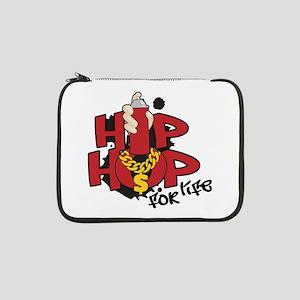 "Hip Hop For Life 13"" Laptop Sleeve"