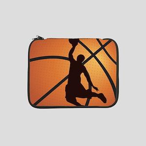 "Basketball dunk 13"" Laptop Sleeve"