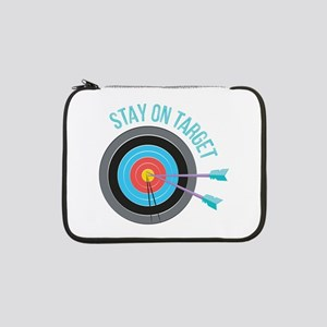 "Stay On Target 13"" Laptop Sleeve"