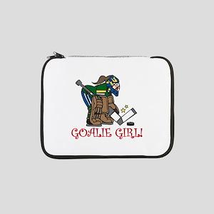 "Goalie Girl 13"" Laptop Sleeve"