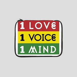 "NEW-One-Love-voice-mind3b 13"" Laptop Sleeve"