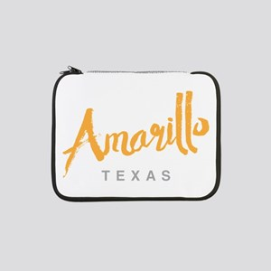 "Amarillo Texas - 13"" Laptop Sleeve"