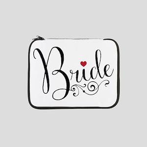 """Elegant Bride 13"""" Laptop Sleeve"""