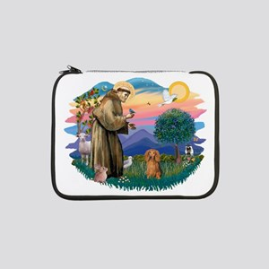 "St.Fran #2/ Dachshund (LH-S) 13"" Laptop Sleev"
