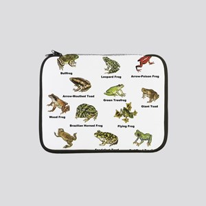 "Frog and Toad Types 13"" Laptop Sleeve"