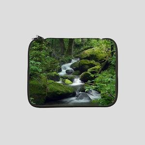"Summer Forest Brook 13"" Laptop Sleeve"