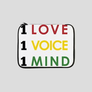 "NEW-One-Love-voice-mind4 13"" Laptop Sleeve"