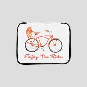 "Enjoy The Ride 13"" Laptop Sleeve"