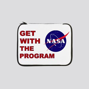 "GET WITH THE PROGRAM 13"" Laptop Sleeve"