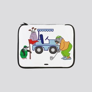 "Playing Golf 13"" Laptop Sleeve"
