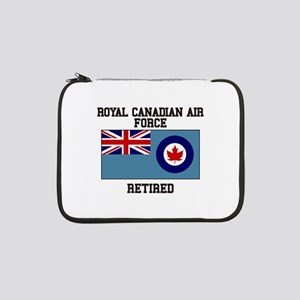 """Royal Canadian Air Force Retired 13"""" Laptop Sleeve"""