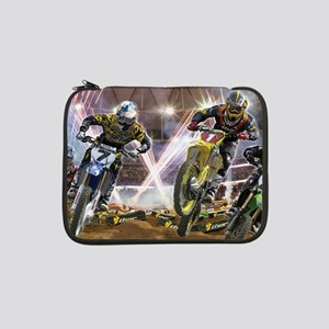 "Motocross Arena 13"" Laptop Sleeve"
