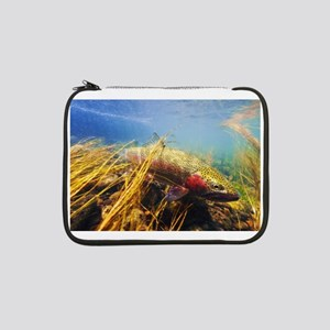 """Rainbow Trout - Fly Fishing 13"""" Laptop Sleeve"""