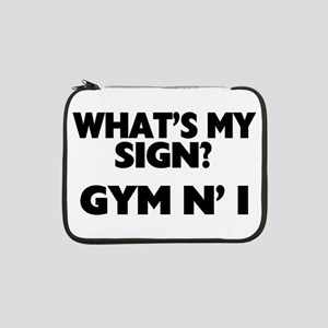 "What's My Sign Gym N' I 13"" Laptop Sleeve"