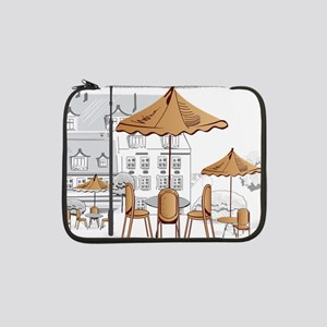 "Coffee Shop 13"" Laptop Sleeve"
