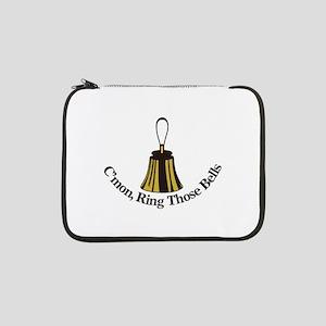 "Cmon Ring Those Bells 13"" Laptop Sleeve"