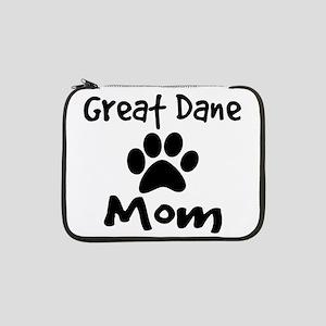 "Great Dane Mom 13"" Laptop Sleeve"
