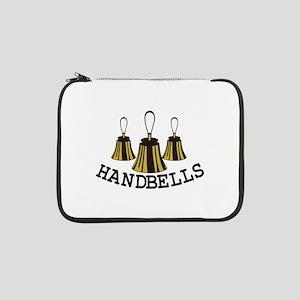 """Handbells 13"""" Laptop Sleeve"""