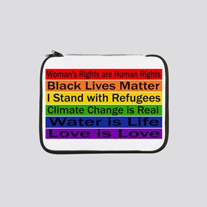 "Political Protest 13"" Laptop Sleeve"