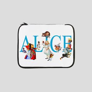 "ALICE & FRIENDS IN WONDERLAND 13"" Laptop Sleeve"