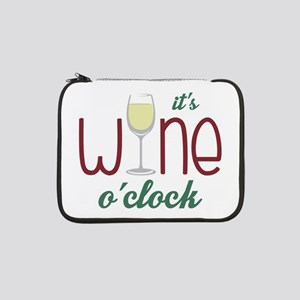 "Wine OClock 13"" Laptop Sleeve"