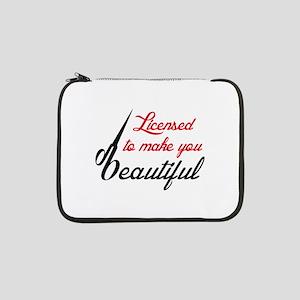 "MAKE YOU BEAUTIFUL 13"" Laptop Sleeve"