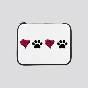 "Love Pets 13"" Laptop Sleeve"