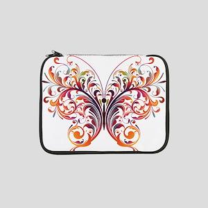 """Scroll Butterfly 13"""" Laptop Sleeve"""