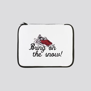 "Bring on the Snow 13"" Laptop Sleeve"