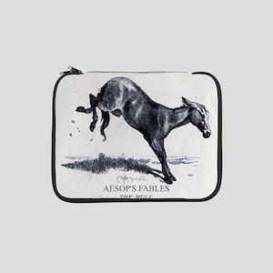 """Harrison Weir - The Mule - Aesop - 1867 13"""" Laptop"""