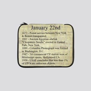 "January 22nd 13"" Laptop Sleeve"